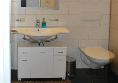 Bathroom with floorheating